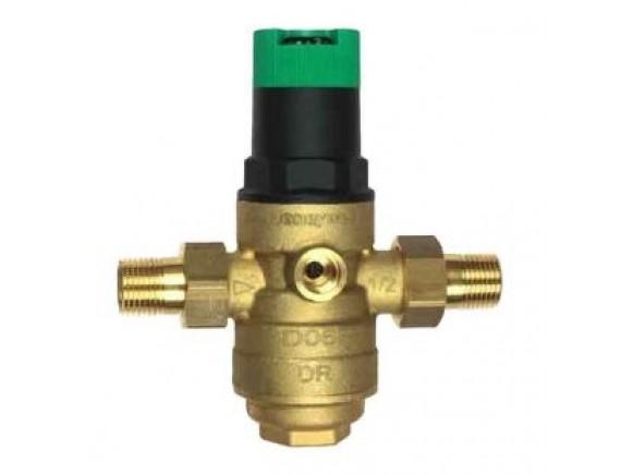 Редукционные клапаны D06F со сбалансированным седлом и защитным фильтром (для горячей воды)